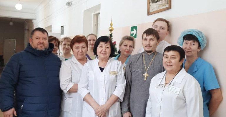 Посещениеп паллиативного отделения ГБ №2 г. Салавата